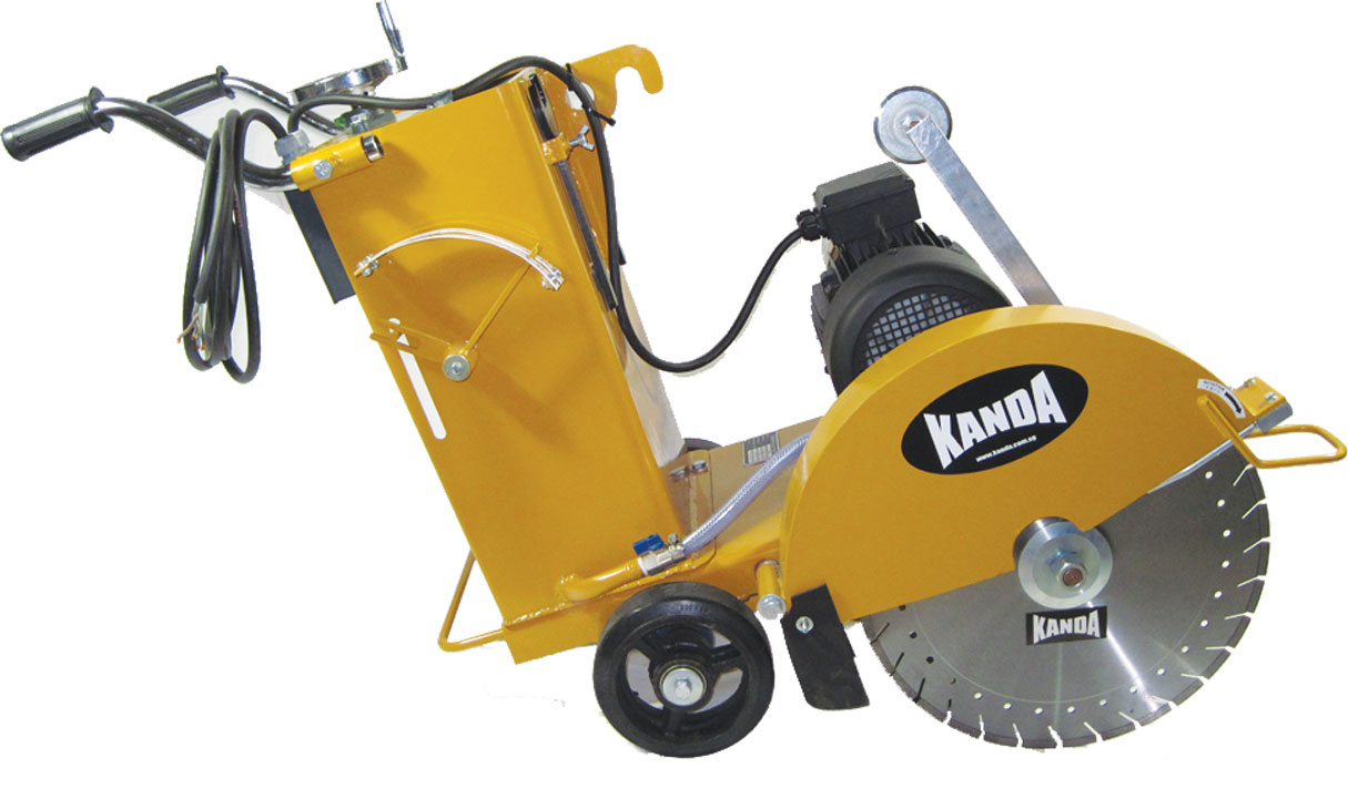 Concrete Cutter : Kanda™, Solutions to Your Machinery Needs